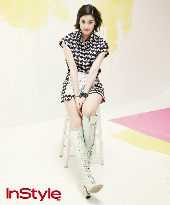 Oh Yeon Seo - InStyle Magazine April Issue 2014
