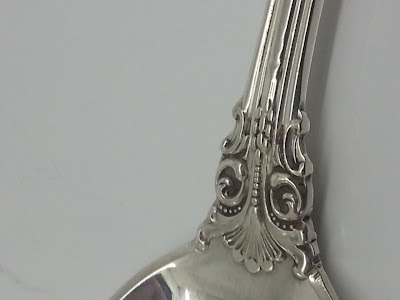 "Silver Gorham ""KingEdward"" Long Iced Tea Spoons ."