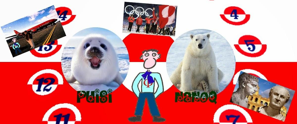 Pep Vitruvi s'enfronta en Groenlàndia al seu nou repte: el joc del puisi-nanoq.