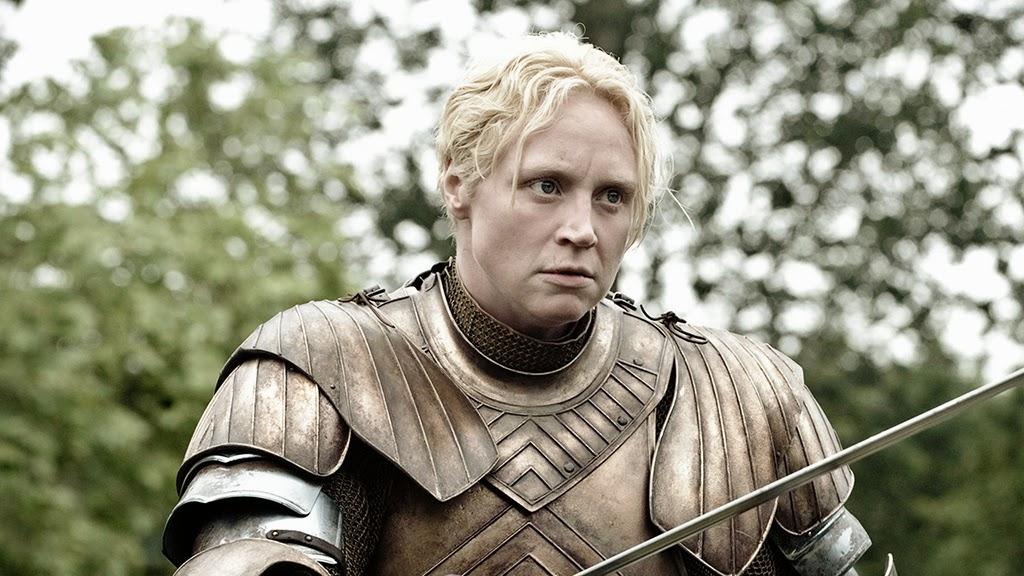 Gwendoline Christie como Brienne de Tarth em Game of Thrones