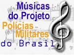 Músicas do Projeto Polícias Militares do Brasil