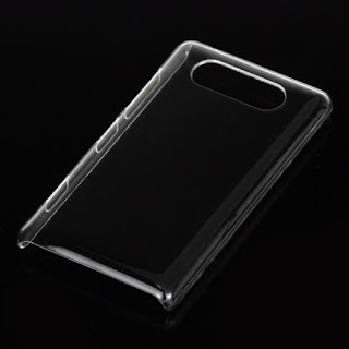 Transparent Clear Crystal Case for Nokia Lumia 820