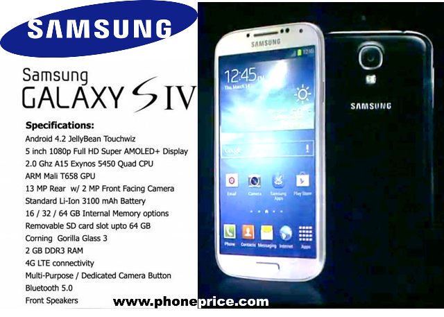 Samsung Galaxy S4 Prices Philippines