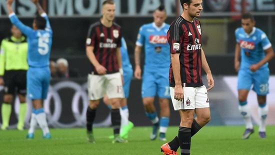 Milan 0 x 4 Napoli - Calcio 2015/16