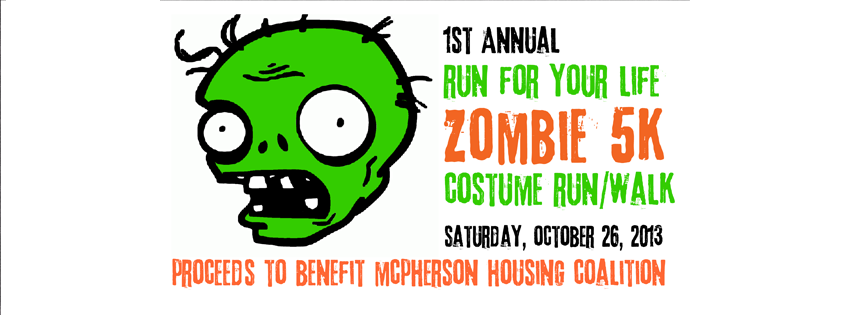 Run For Your Life -  Zombie 5K Costume Run/Walk