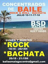 ROCK & ROLL INTENSIVO  EN  JULIO 10-11-17-18  EN BSD BAILAS MÁLAGA CENTRO.