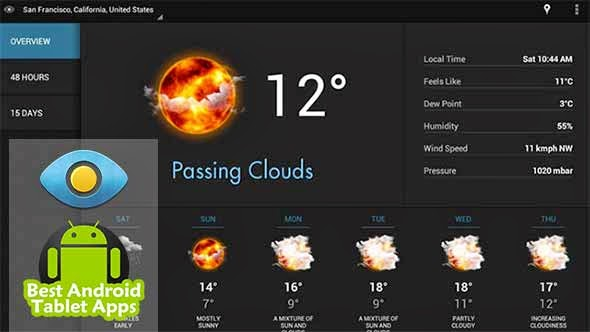Best Android Weather App March 2014