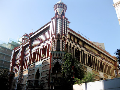 Casa Vicens, Barcelona, by Antoni Gaudi