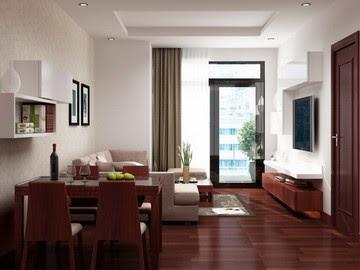 Phối cảnh nội thất chung cư mini Thịnh Quang