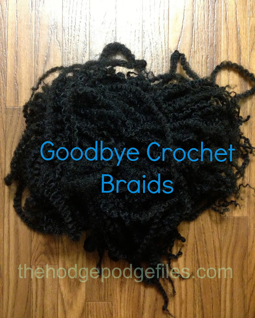 Goodbye Crochet Braids with Marley Hair - VeePeeJay