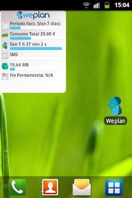 weplan widget