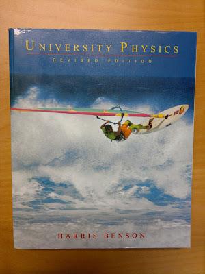 Bok: Harris Benson, University Physics säljes