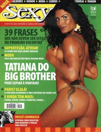 Tatiana Giordano BBB4 nua