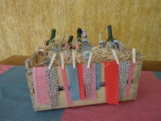 Decoração da festa junina com caixinhas -