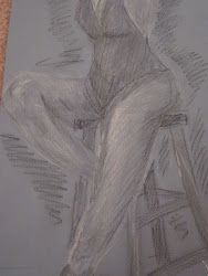 15 minute sketch, Figure Drawing with Peter Rampson