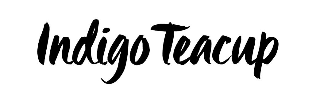 Indigo Teacup