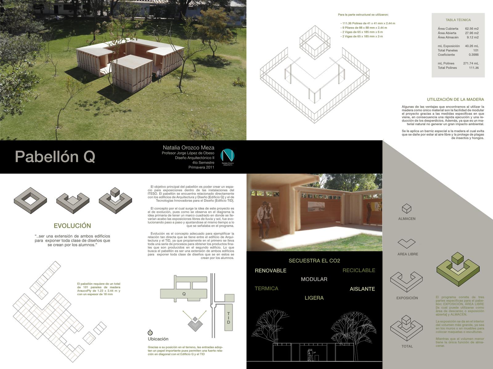 Dise o arquitect nico ii primavera 2011 iteso pabell n q for El concepto de arquitectura