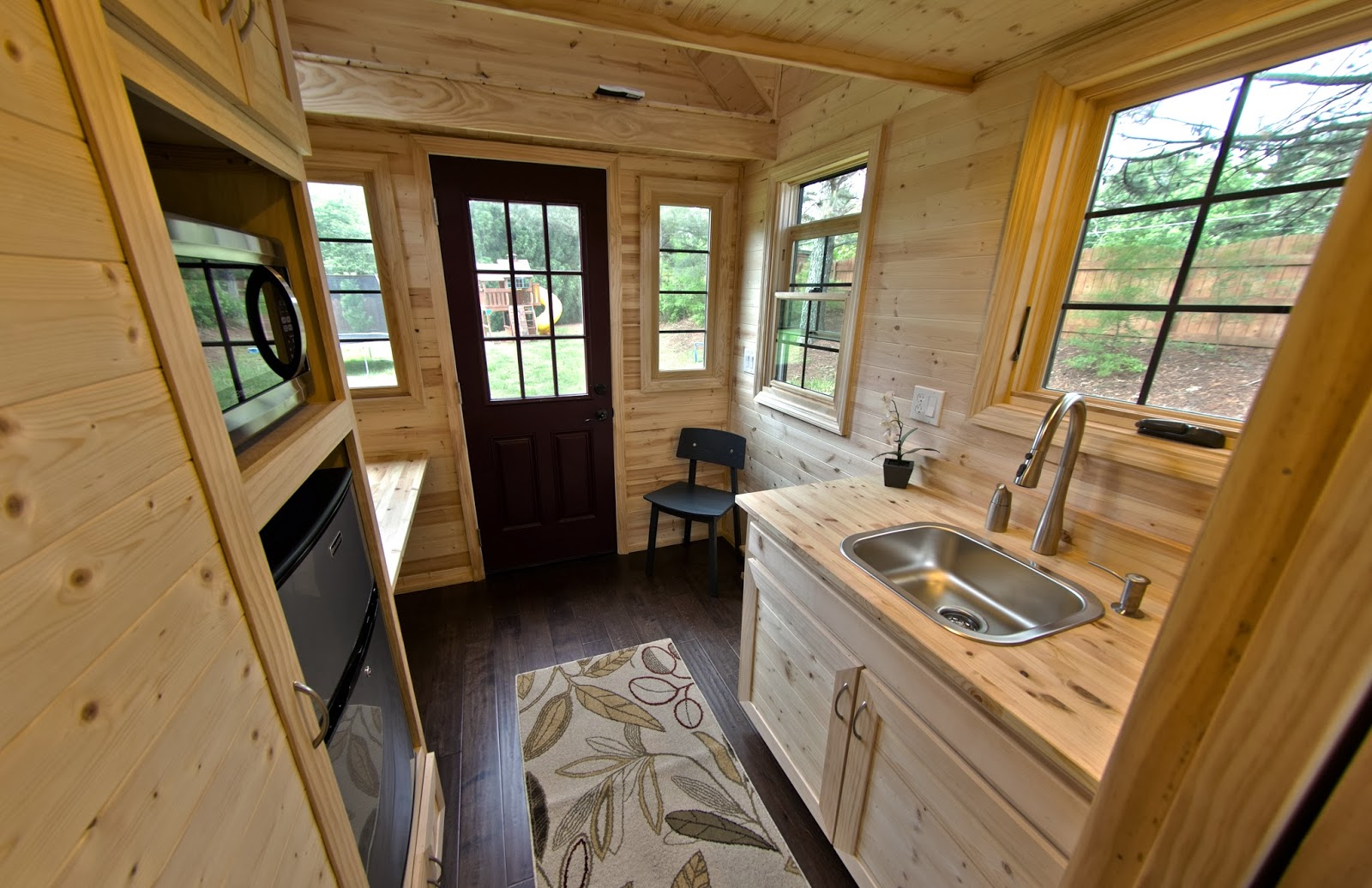 Tiny homes to make a big impact at the orlando home show for Interior designs for tiny houses