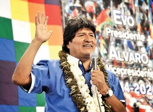 Eleciones presidenciales Bolivia 2014