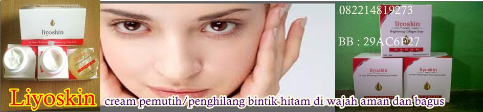 Cream Pemutih Wajah dan penghilang Flek Lyoskin