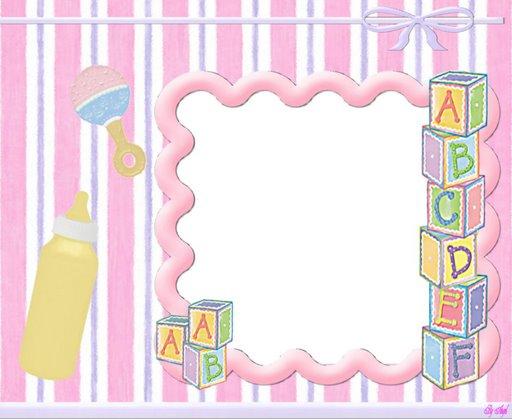 Fondos de invitación para baby shower de niña - Imagui