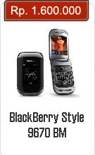 Spesifikasi Dan Harga BlackBerry Style 9670
