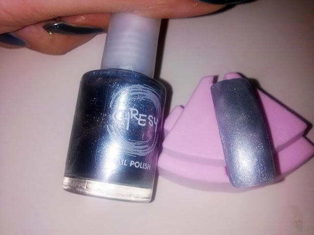 tutorial nail art strip lace_02