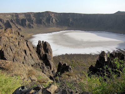 Wahba Crater a Natural Wonder in Saudi Arabia Latest Photos 2013