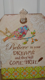 Belive in your dreams and they will come true