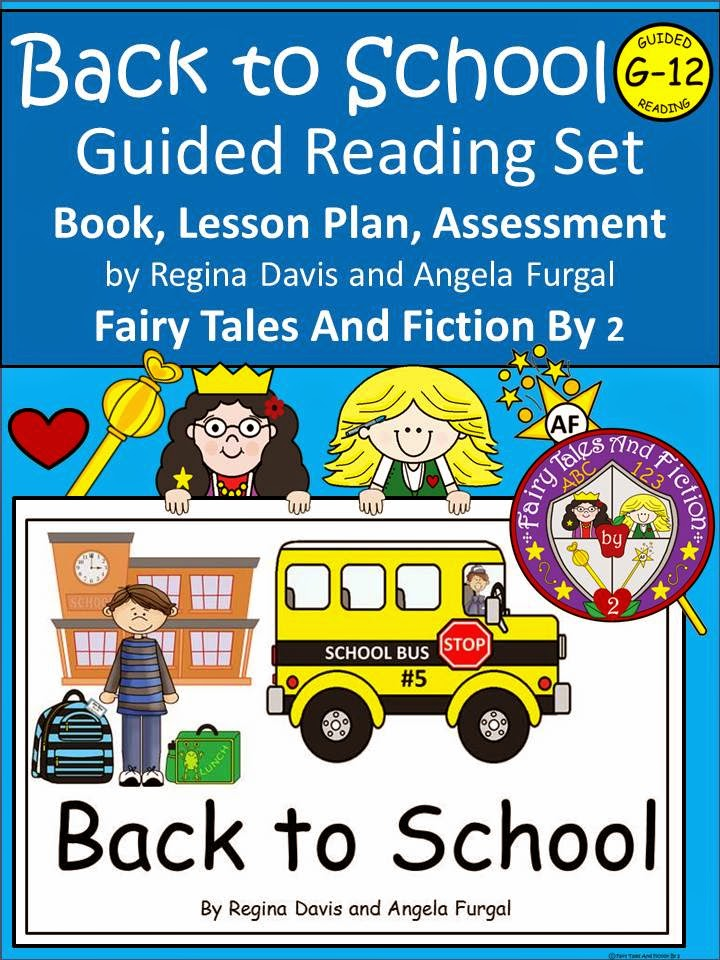 http://www.teacherspayteachers.com/Product/A-Back-To-School-Level-G-12-Guided-Reading-Book-1300901