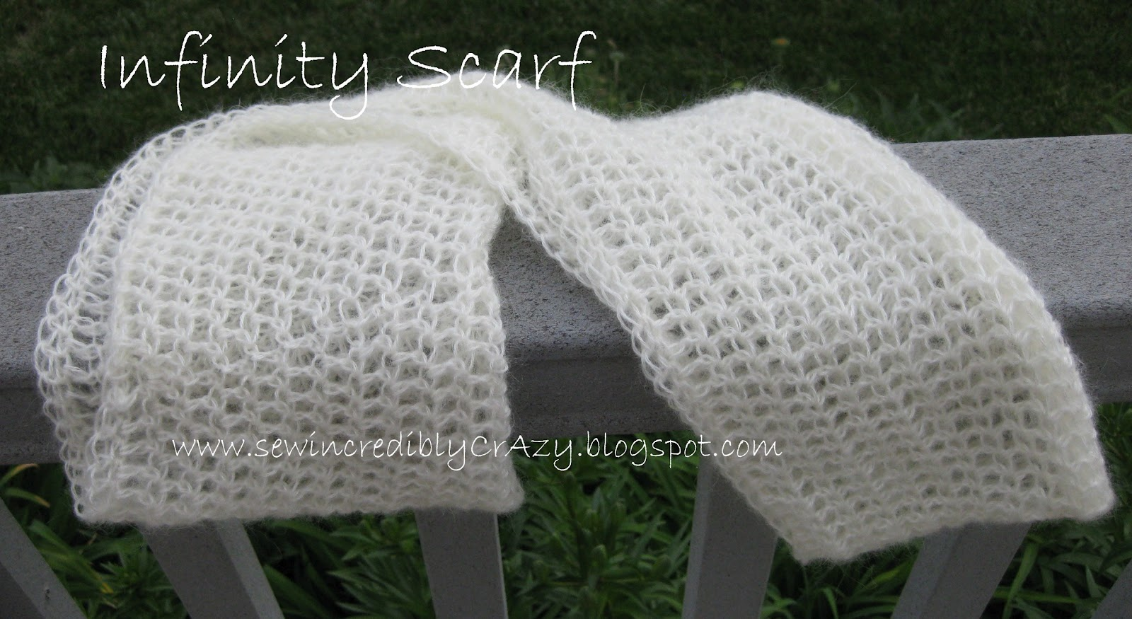 Sew incredibly crazy infinity scarf infinity scarf bankloansurffo Image collections