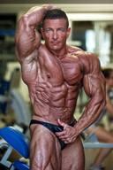 Italian Muscular Hunk Bodybuilder - Alberto Clementi
