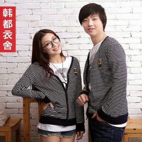 Cardigan Pasangan Couple Korea