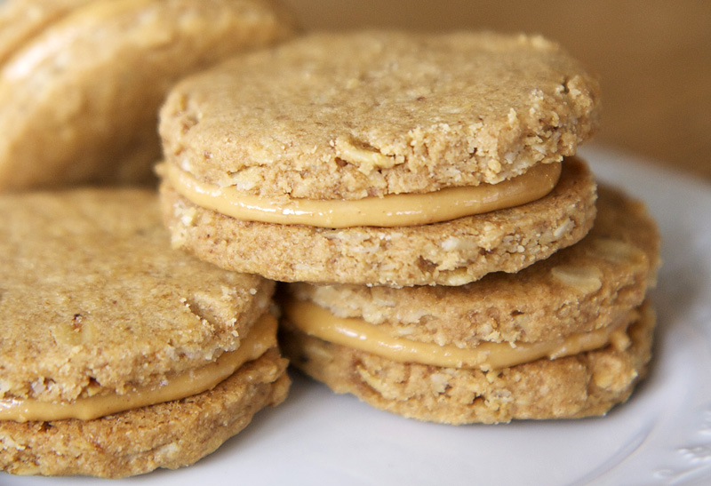 The Flour Sack: Peanut Butter Sandwich Cookies