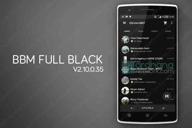 BBM Full Black V2.10.0.35