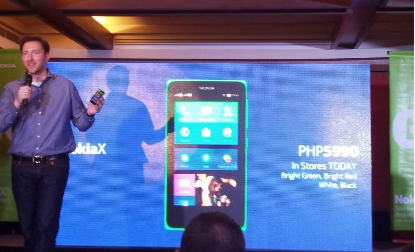 Nokia General Manager Karel Holub reveals Nokia X price in the Philippines
