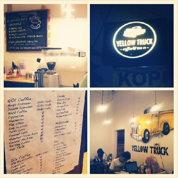 [ HANG-OUT ] Yellow Truck Coffee