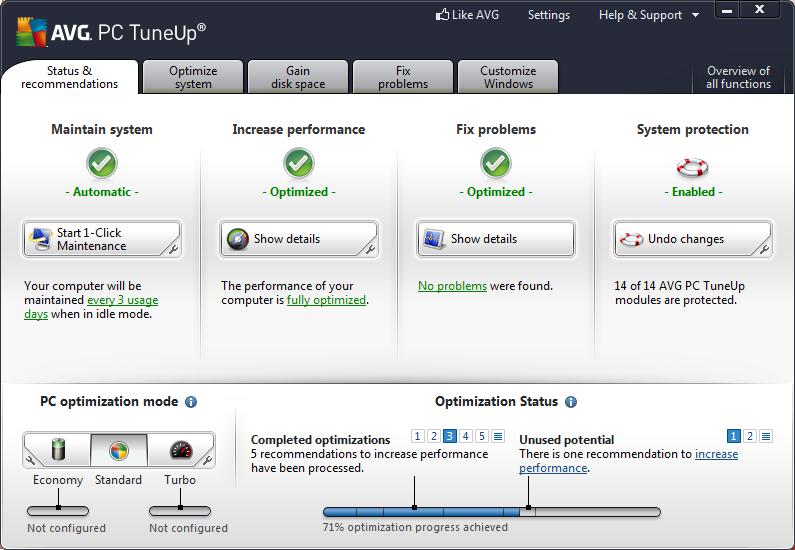 AVG PC Tuneup Pro 2013 Full Version  ডাউনলোড় করে নিন এখুনি