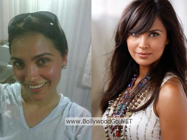 Lara Dutta Real Life Pictures without Makeup