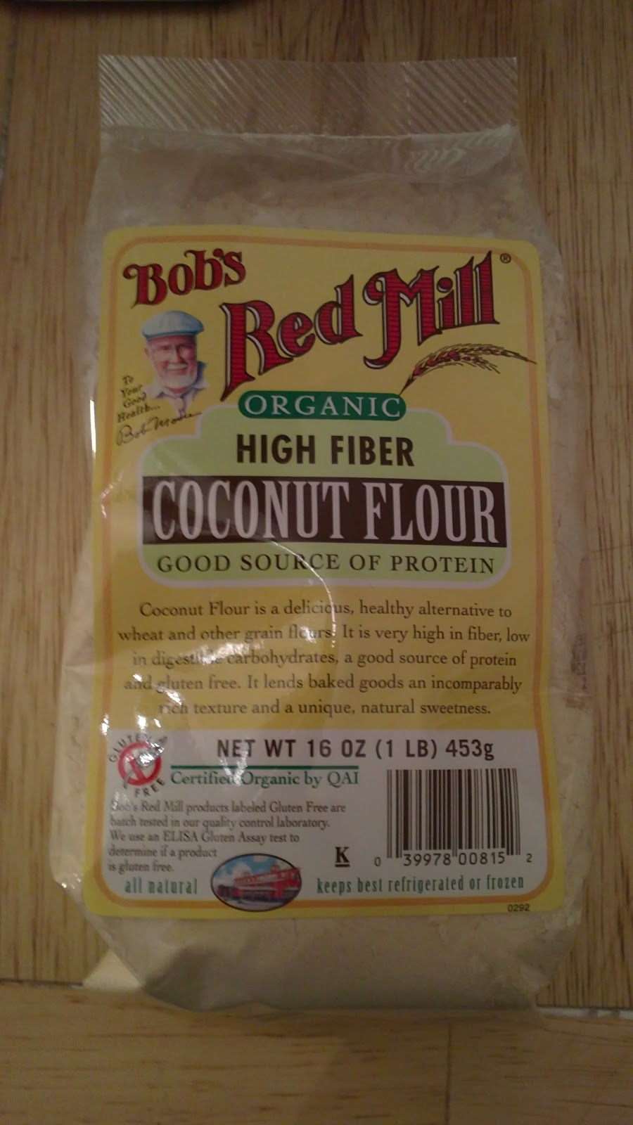 Hope's Cafe: Bob's Red Mill Coconut Flour Recipe & Giveaway!!