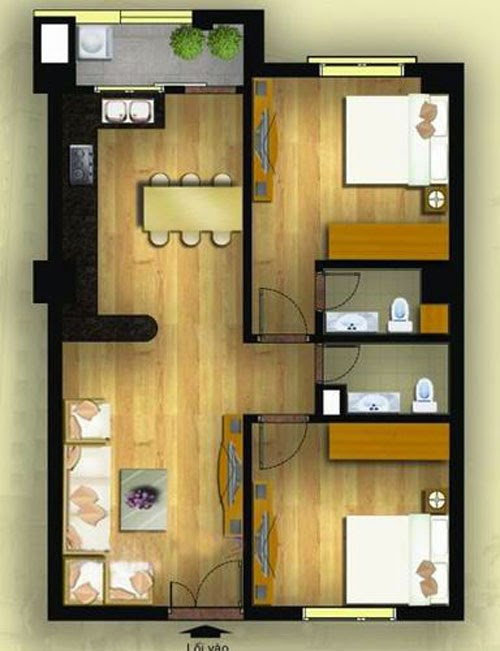 Bán căn hộ chung cư Tây Hồ - Hà Nội