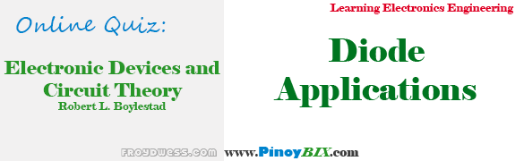 Practice Quiz in Diode Applications