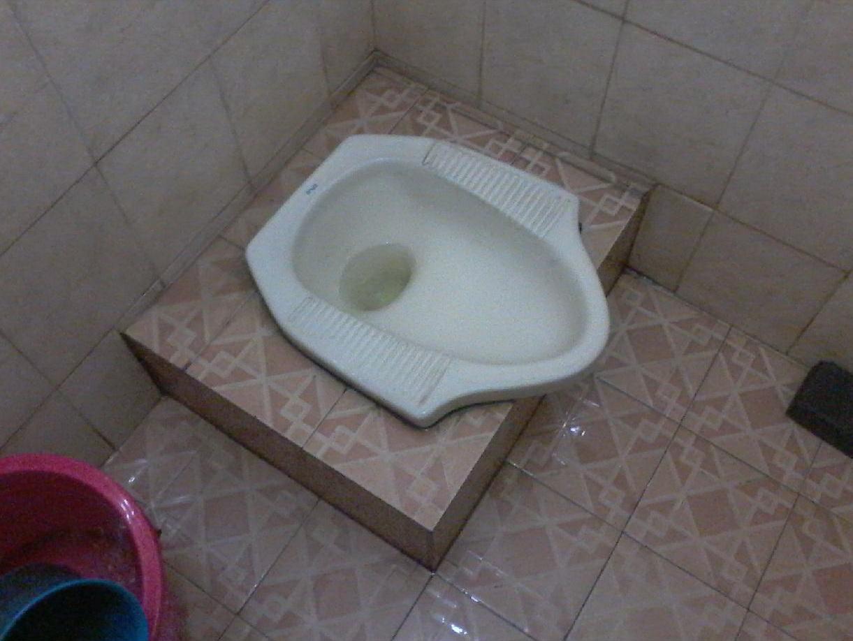 Kemarin saya medapati pemasangan closet jongkok atau wc jongkok yang ...