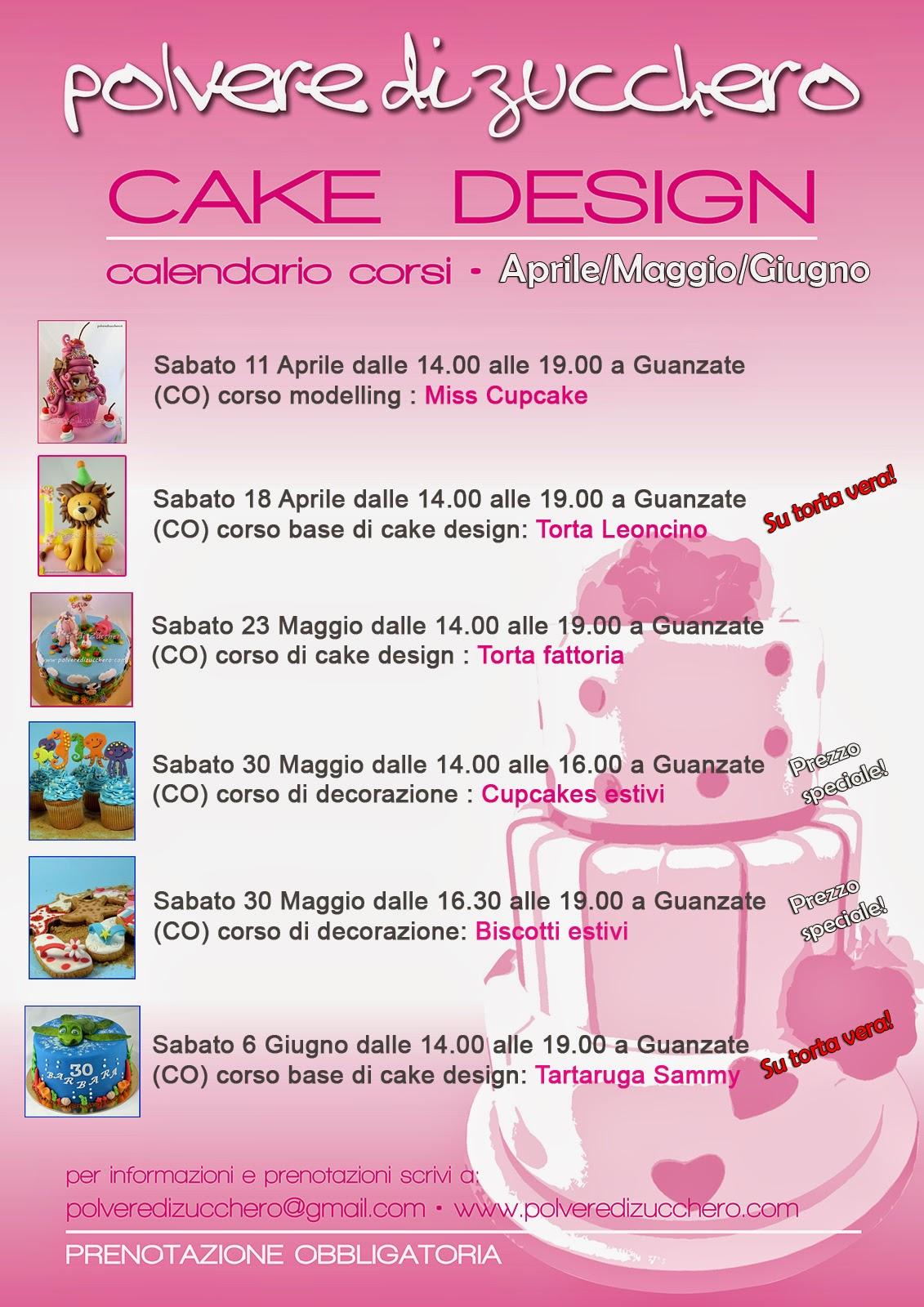 corso cake design torte decorate pasta di zucchero polvere di zucchero corso pasticceria