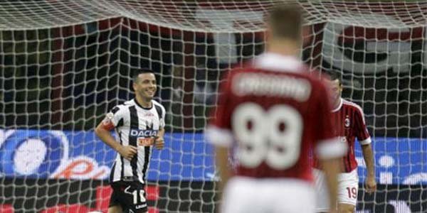 Cuplikan Video Highlights Udinese vs AC Milan 1-2, 23 September 2012