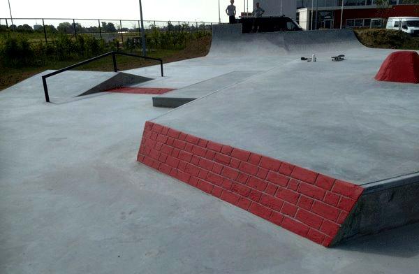 Nouveau skatepark Wervicq