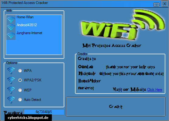 Wifi/Wlan Cracker
