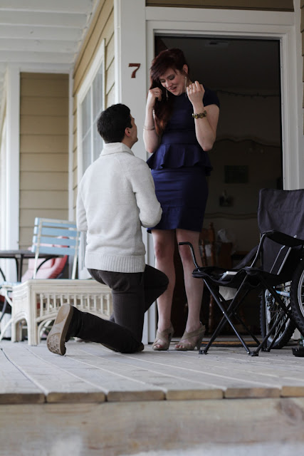 proposal in action, best proposal ever, marry me bruno mars, shabby apple dress