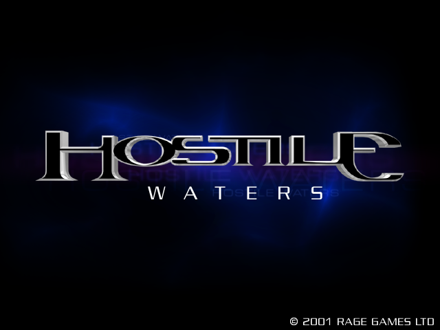 Hostile Waters title screen