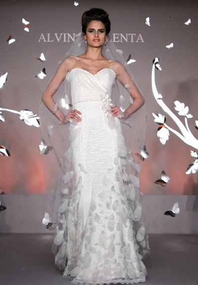 Wedding on The Wedding  Alvina Valenta Wedding Dress Collection 2012
